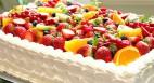写真:パーティー・結婚式・2次会用ケーキ
